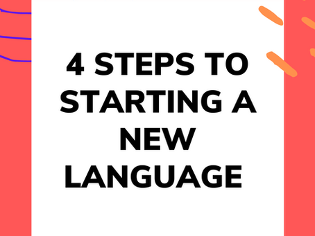 4 Steps to Starting a New Language