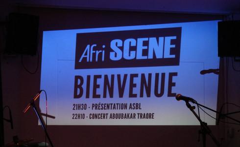 LANCEMENT AfriSCENE LE 02 JUIN 2018 À BRUXELLES