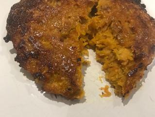 Sweet Potatoe Latkes