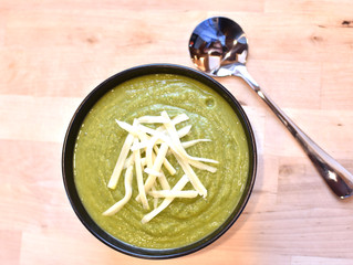 Broccoli & Spinach Soup