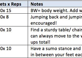 September Workout Challenge: EMOM