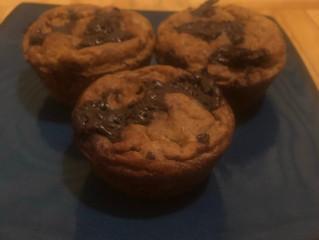 [GF/DF] Banana Chocolate Chip Muffins