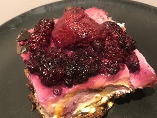 [GF] Berry Cheesecake Crumble