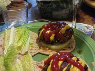 June Grilling: [Vegan, GF] Pakora Burger