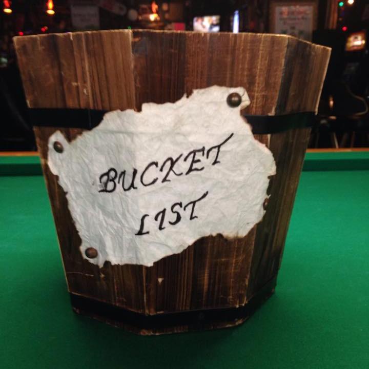 BUCKET LIST TURKEY SHOOT AT TIKI BAR AND GRILLE!