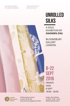 Unrolled Silks - Xiaowen Zhu Solo Exhibition