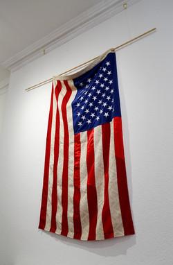 Unrolled Silks, installation view