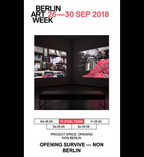 Non Berlin Presents Oriental Silk during Berlin Art Week