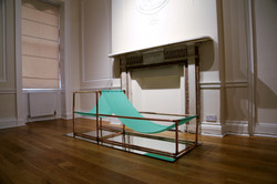 Unrolled Silks, installation