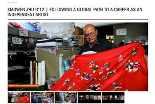 Xiaowen Zhu   Following a Global Path to a Career as an Independent Artist