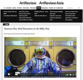 Art Review | Xiaowen Zhu: Brief Encounters on the Milky Way