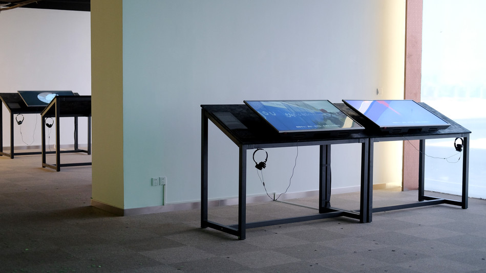 The Details Are Invented, installation view, Hima Art Space, Shanghai