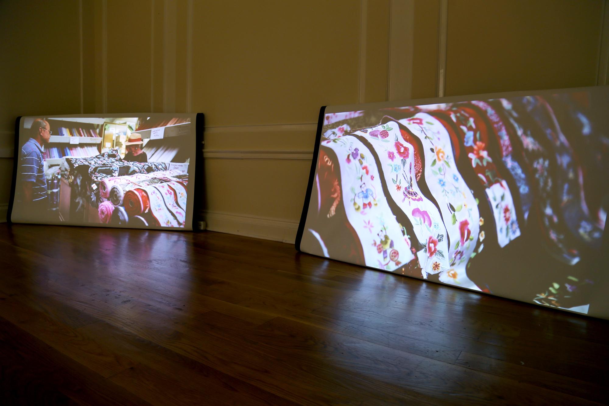 Oriental Silk, film installation
