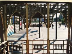 Islamic style trellis