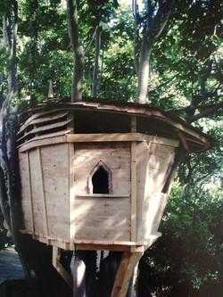 Friary treehouse, Ovingdean