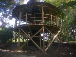 Treehouse platform, Keymer, West Sussex