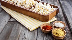 Plant-Based Cheese Popcorn