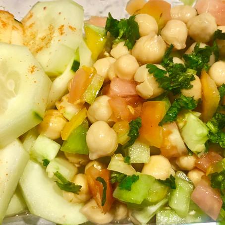 Chickpea Vegan Salad