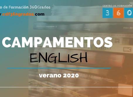 Inmersiones en inglés VERANO 2020