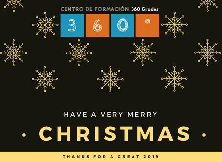 CDF360Grados os desea felices fiestas!!