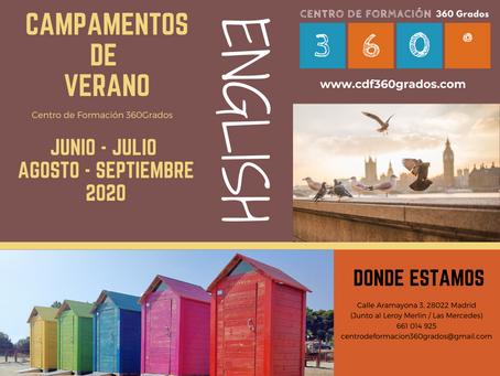 Campamentos de Verano en INGLÉS (Madrid)