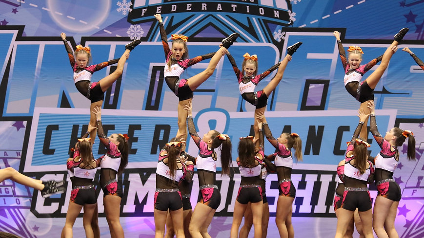 Cheerleading AASCF Winterfest Competition Excite Dance and Cheer Glenmore Park