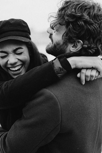 monochrome-photo-of-couple-laughing-3692
