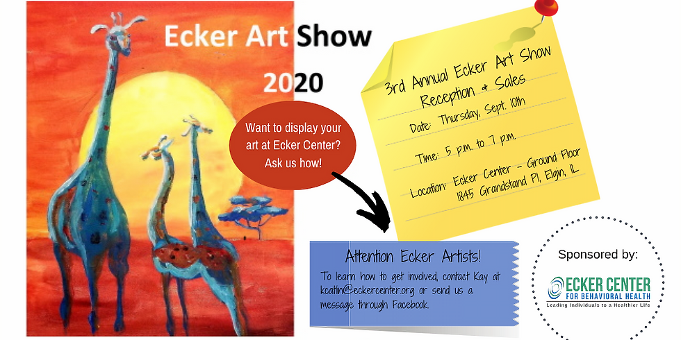 3rd Annual Ecker Client Art Show & Reception