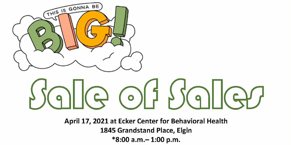 Sale of Sales Spring Fundraiser