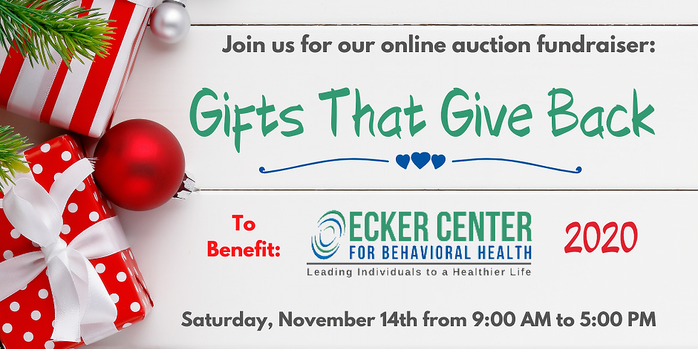 2020 Gifts That Give Back Online Auction