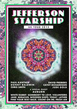 Jefferson Starship UK Tour 2015