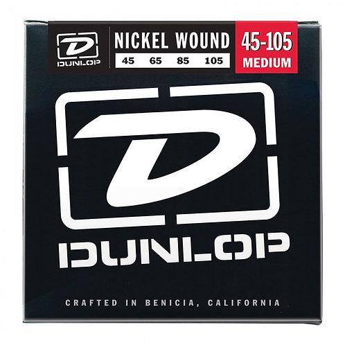 Dunlop Nickel Wound Bass Strings - Medium