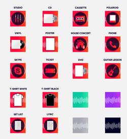 Pledge Icons