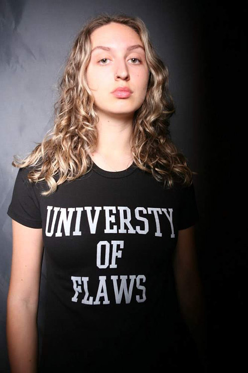 Universty of flaws T shirt