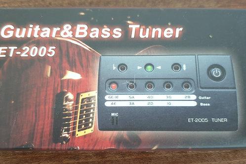ET-2005 guitar & bass tuner