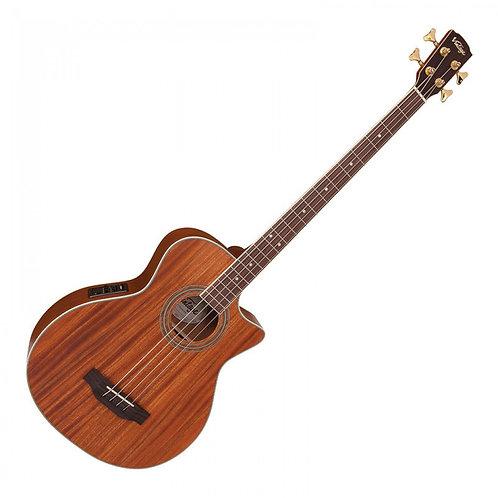 Vintage Electro-Acoustic Bass ~ Mahogany Open Pore