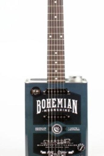 Bohemian oil can electric guitar