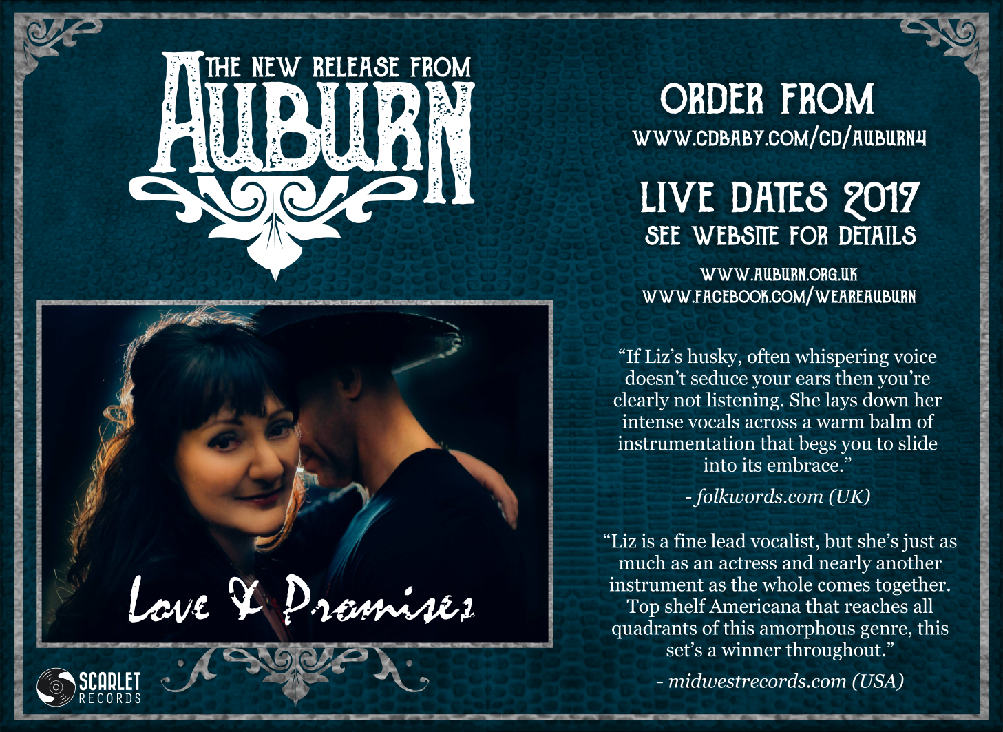 Auburn: Love & Promises Advert