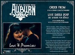 Auburn: Love & Promises Advert