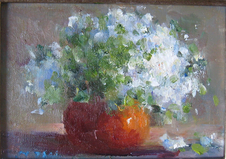 Milly Tsai, Oil painting, Bouquet