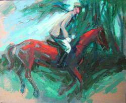 """Rider on Horseback"""