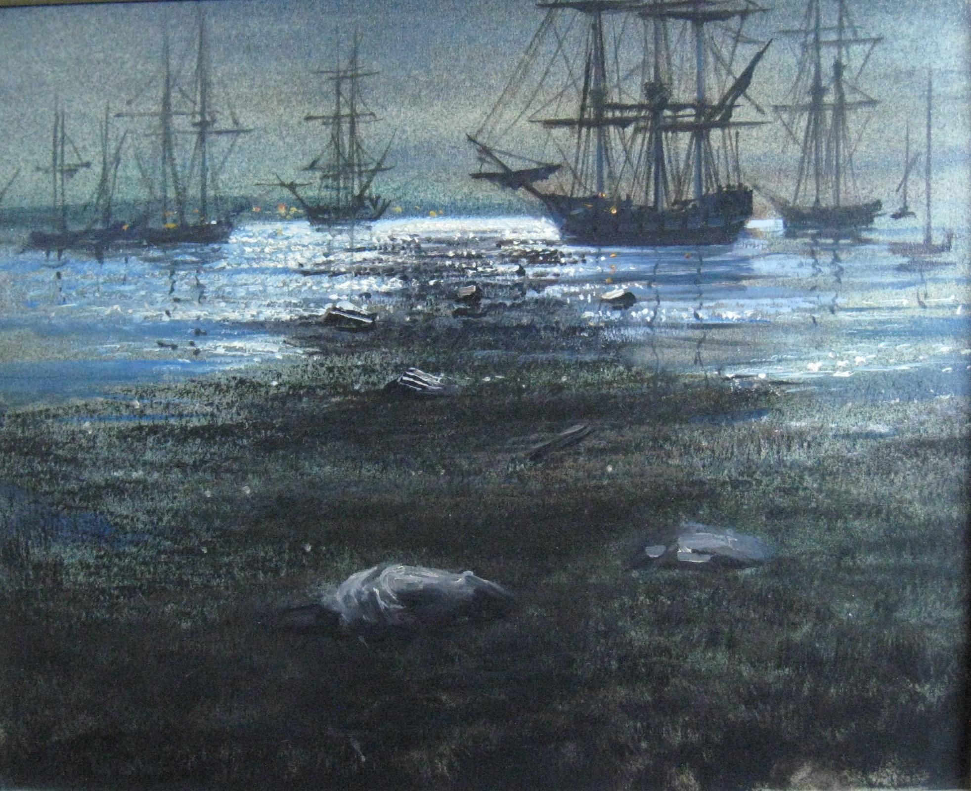 """""""Johnny Tremain, Boston Harbor"""""""