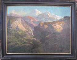 """Somewhere in the Sierra, Circa 1910"""