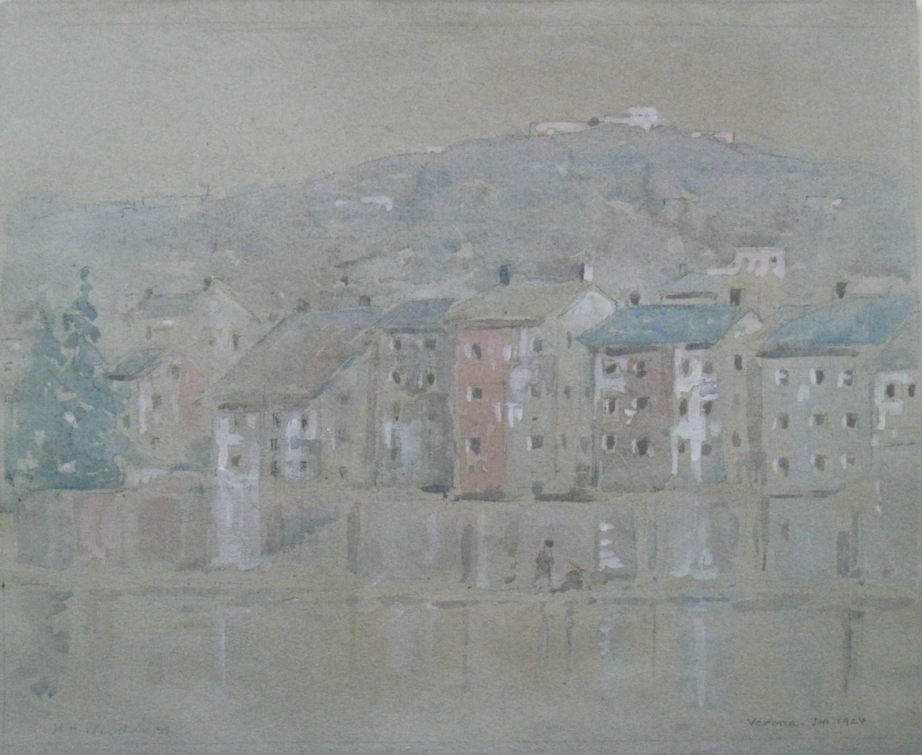 """Verona, Jan 1924"""