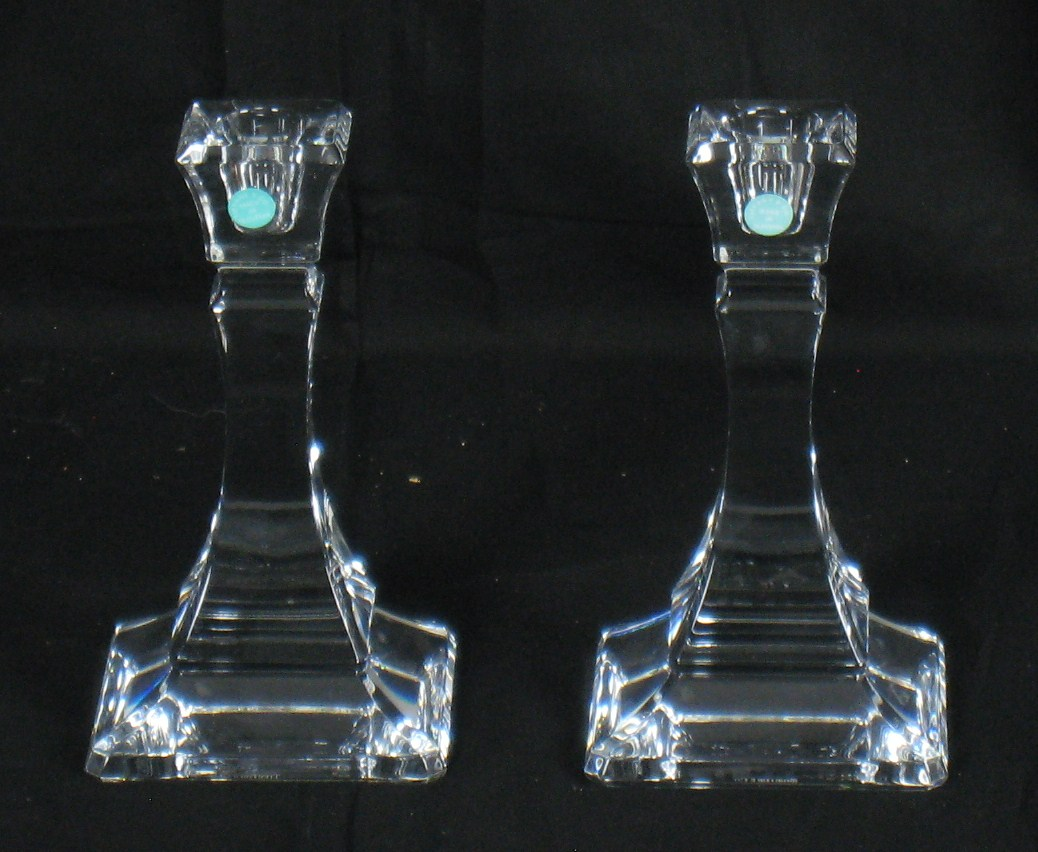 """""""Crystal Candle Holders"""""""