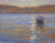 10514 Naphilo Greece Boat 14x18 OC
