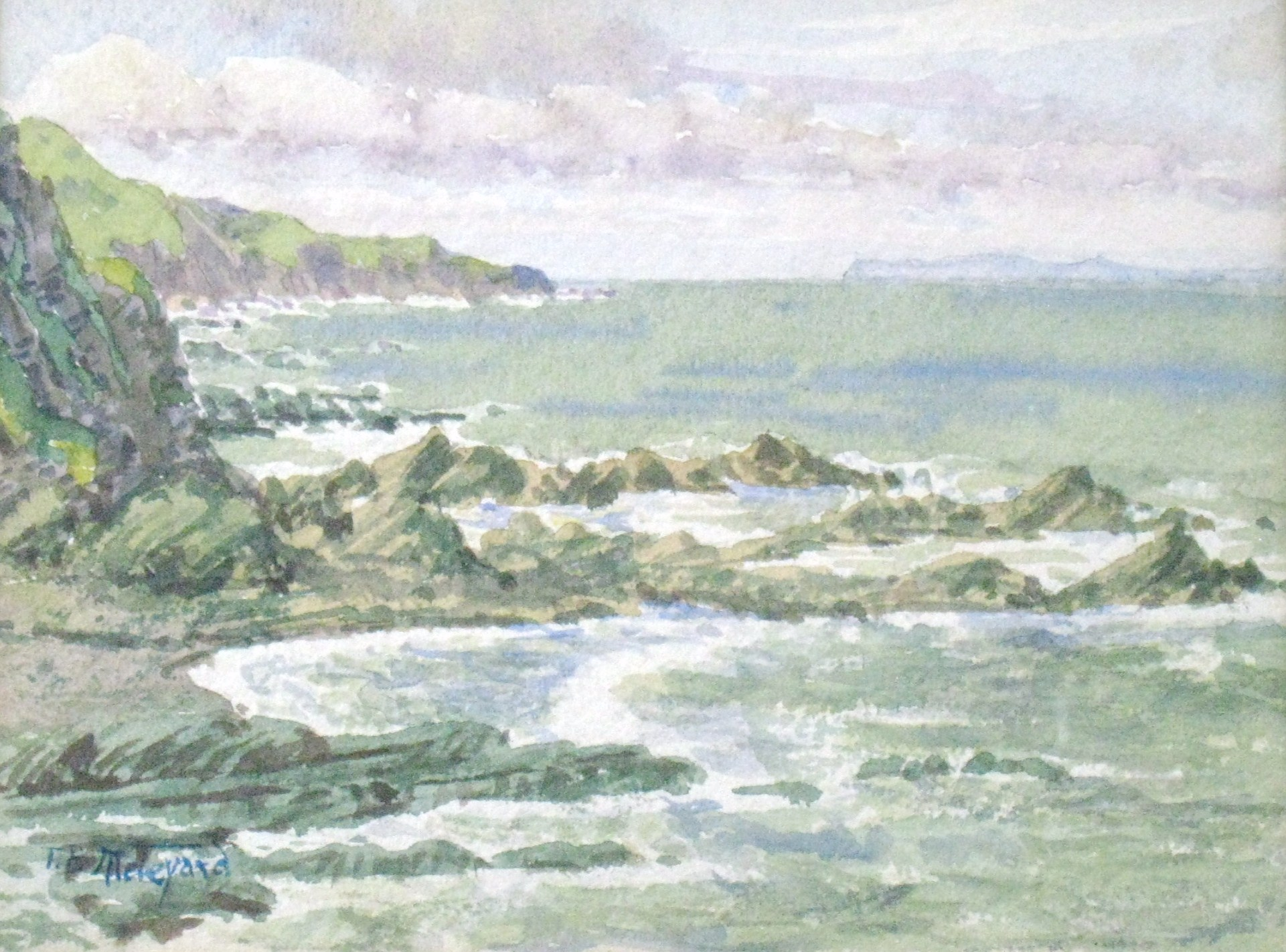 """Rocky New England Coast"""