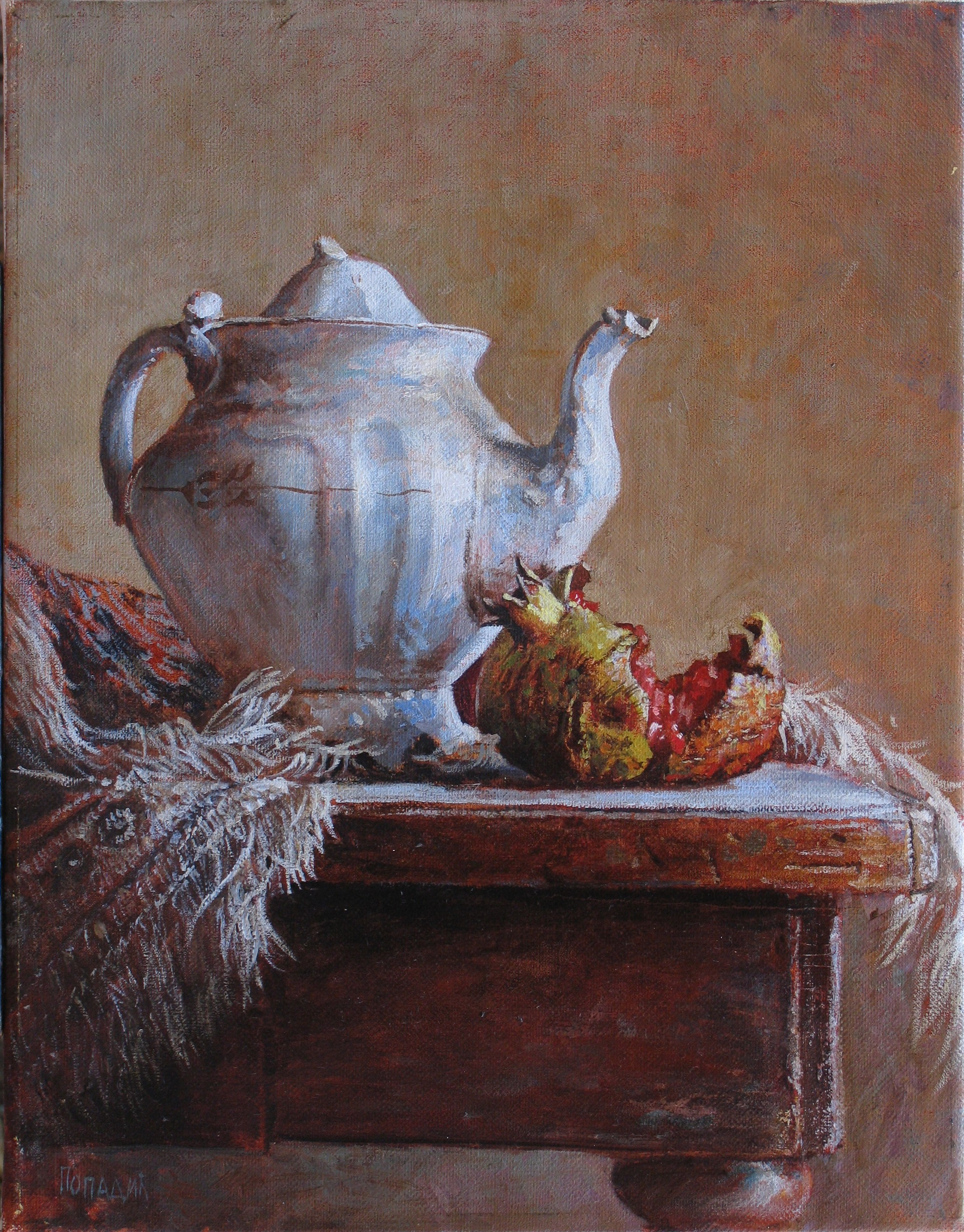 """""""Teapot with Pomegranate"""""""