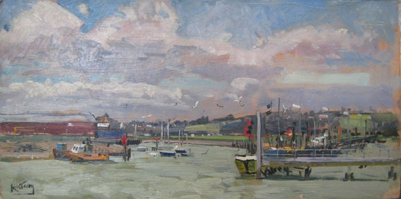 """Windy Day Rye Harbor"""