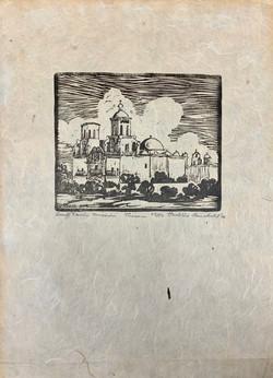 """San Xavier Mission, Tucson"""
